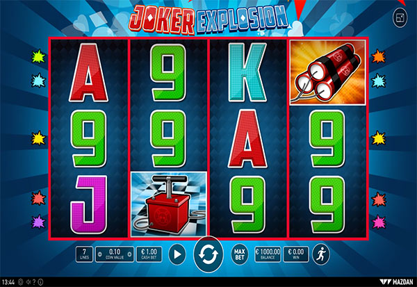 Joker Explosion 777 Slots Bay game
