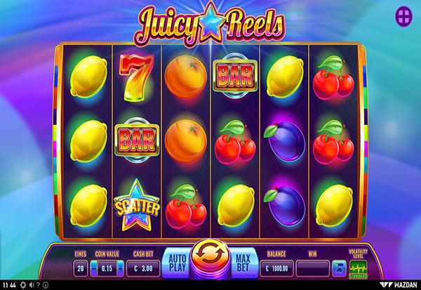 Juicy Reels 777 Slots Bay game