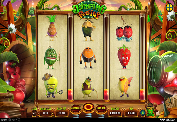 Jumping Fruits 777 Slots Bay game