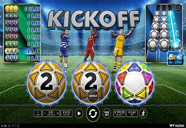 KickOff 777 Slots Bay game