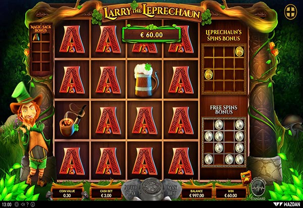 Larry The Leprechaun 777 Slots Bay game