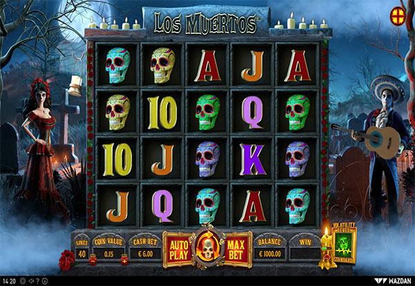 Los Muertos 777 Slots Bay game