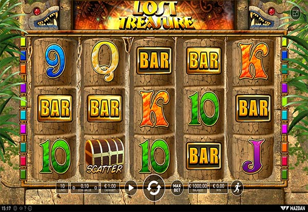 Lost Treasure 777 Slots Bay game