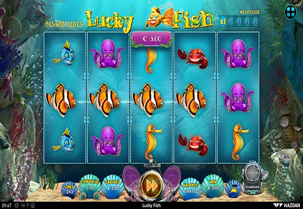 Lucky Fish 777 Slots Bay game