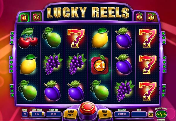 Lucky Reels 777 Slots Bay game