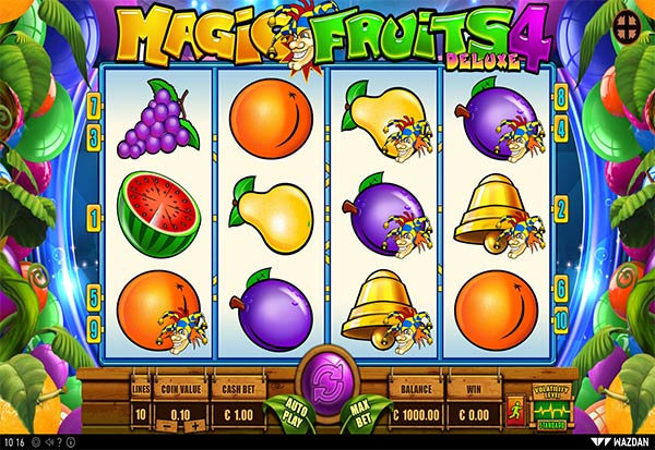 Magic Fruits 4 Deluxe 777 Slots Bay game