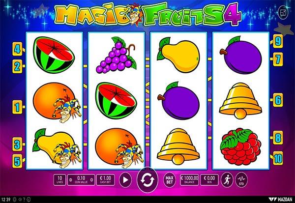 Magic Fruits 4 777 Slots Bay game