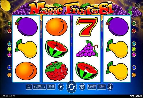 Magic Fruits 81 777 Slots Bay game