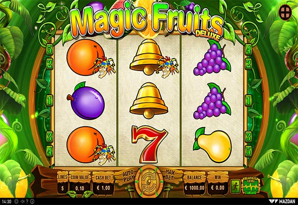 Magic Fruits Deluxe 777 Slots Bay game