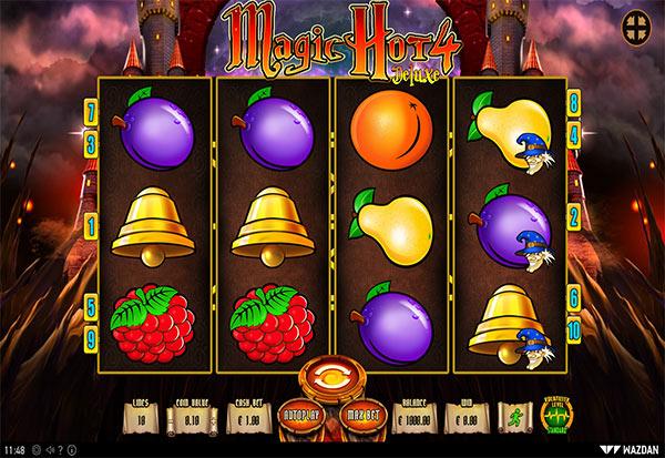 Magic Hot 4 Deluxe 777 Slots Bay game