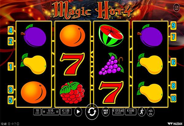 Magic Hot 4 777 Slots Bay game