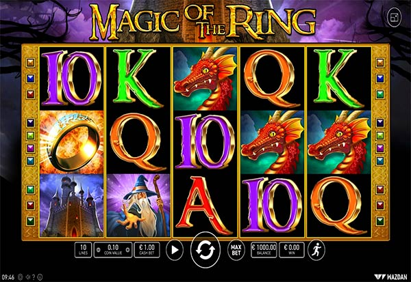 Magic of the Ring Deluxe 777 Slots Bay game