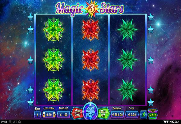 Magic Stars 3 777 Slots Bay game