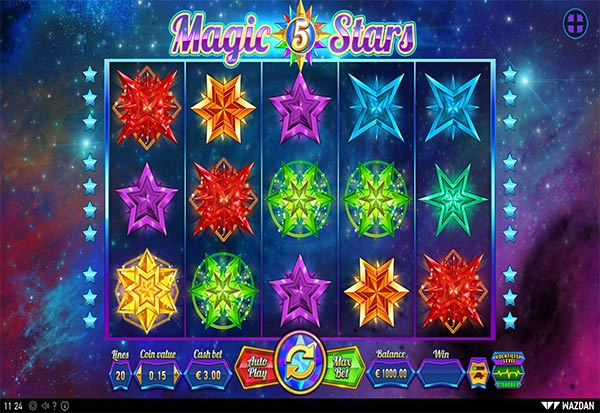Magic Stars 5 777 Slots Bay game