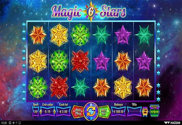 Magic Stars 6 777 Slots Bay game