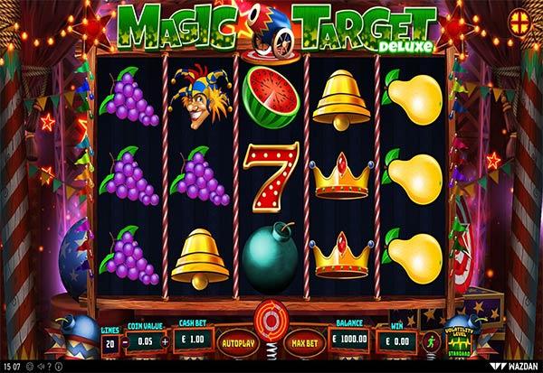 Magic Target Deluxe 777 Slots Bay game