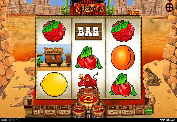 Mystery Jack Deluxe 777 Slots Bay game