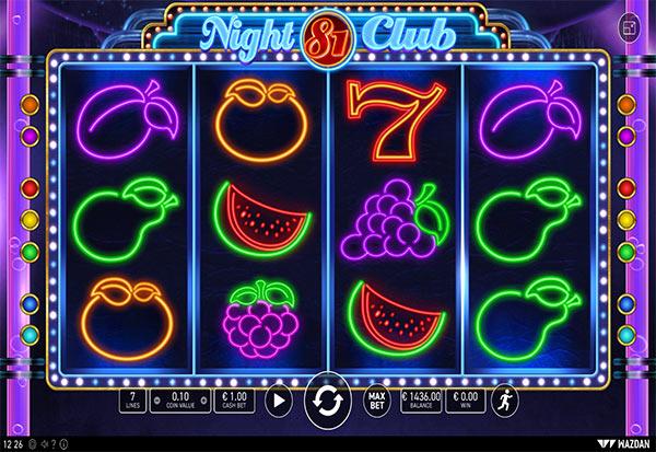 Night Club 81 777 Slots Bay game