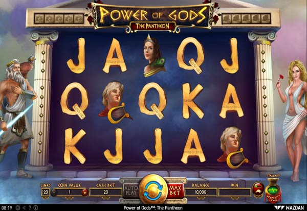 Power of Gods The Pantheon 777 Slots Bay game