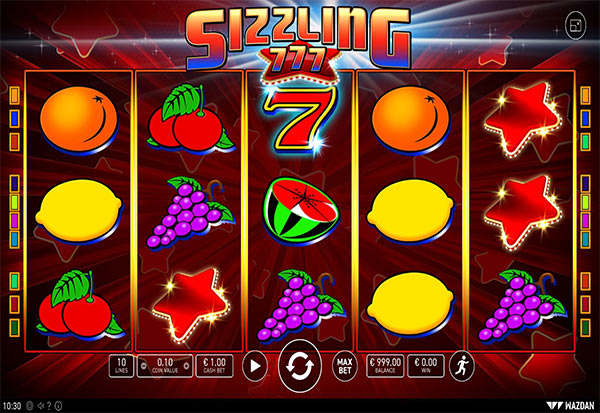 Sizzling 777 777 Slots Bay game