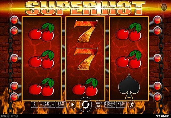 Super Hot 777 Slots Bay game