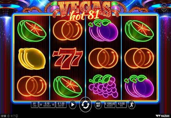 Vegas Hot 81 777 Slots Bay game
