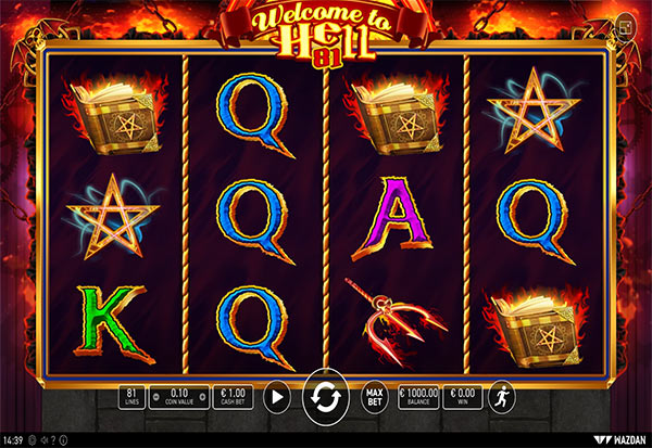 Welcome To Hell 81 777 Slots Bay game