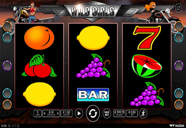 Wild Girls 777 Slots Bay game