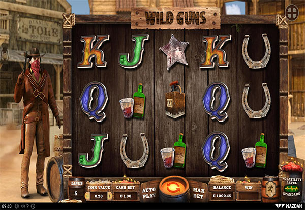 Wild Guns 777 Slots Bay game
