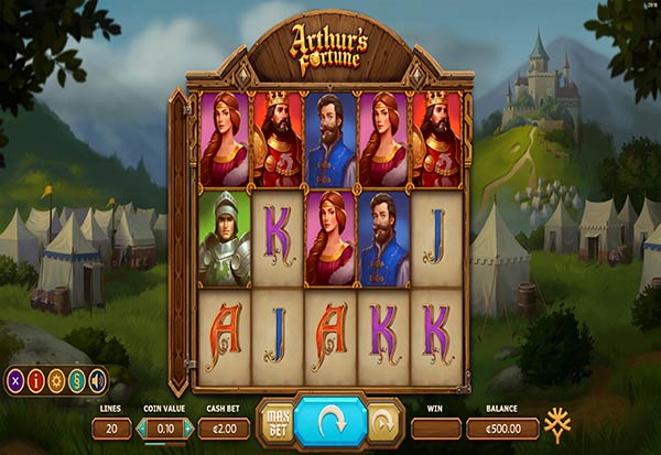 Arthur's Fortune 777 Slots Bay game