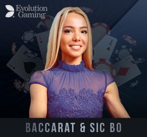 Evolution Live Casino - Baccarat
