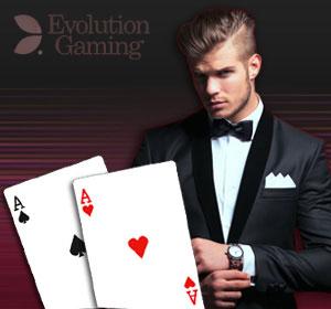 Evolution Live Casino - Extereme Texas Hold'Em
