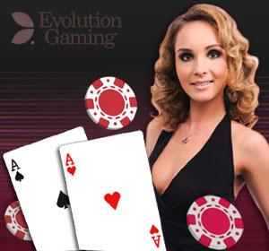 Evolution Live Casino - Three Card Poker