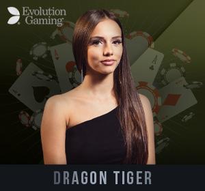 Evolution Live Casino - Dragon Tiger