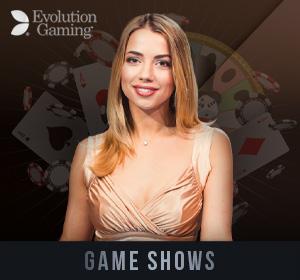 Evolution Live Casino - Game Shows
