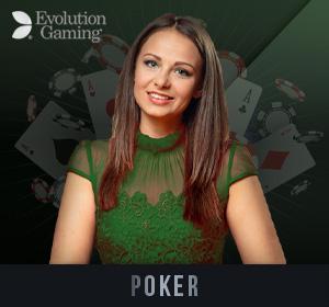 Evolution Live Casino - Poker