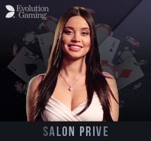 Evolution Live Casino - Salon Prive
