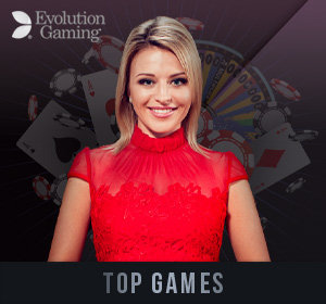 Evolution Live Casino - Top Games