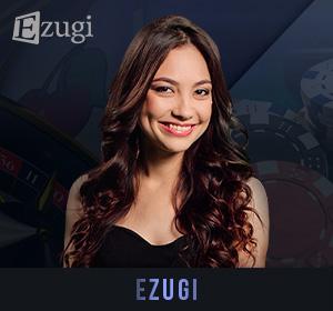 Ezugi Live Dealers - BlackJack, Baccarat, Roulette